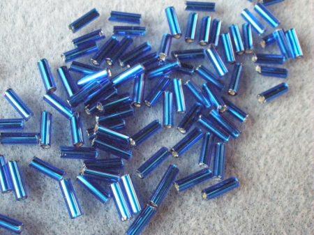6-kék ezüst közepű 7 mm