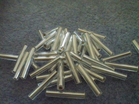 4-kristály ezüst közepű 15 mm