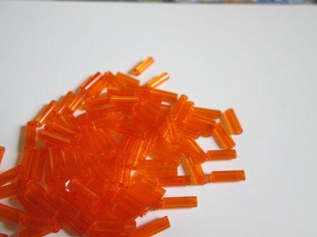 Narancs áttetsző 7 mm