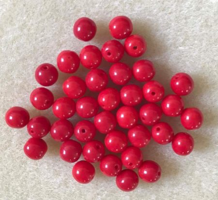 Telt piros 6 mm