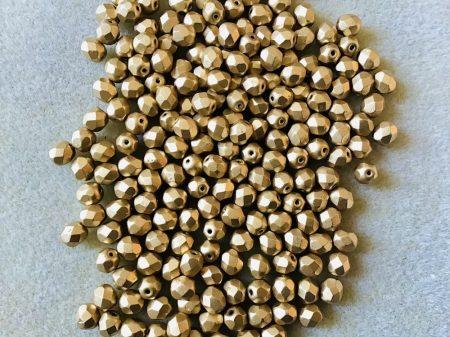 Arany metál csiszolt 6 mm