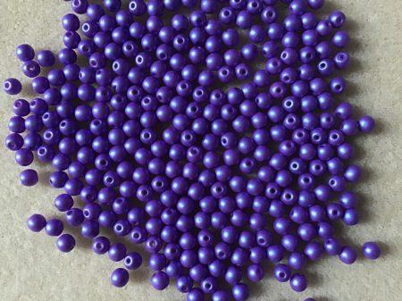 Kékes lila matt 4 mm