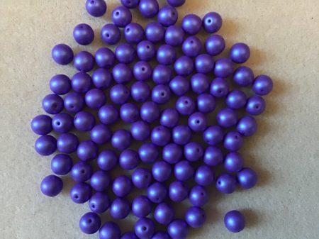 Kékes lila matt 8 mm
