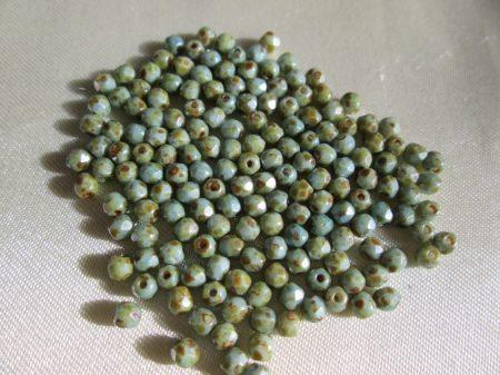 Zöldes kőmintás