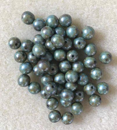 0-Zöldes kőmintás-6mm
