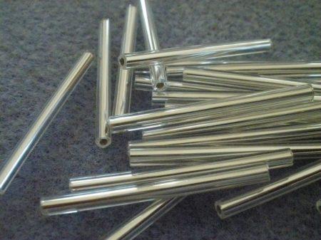 4-kristály ezüst közepű-30 mm