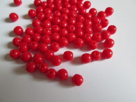 9-Telt piros 4  mm